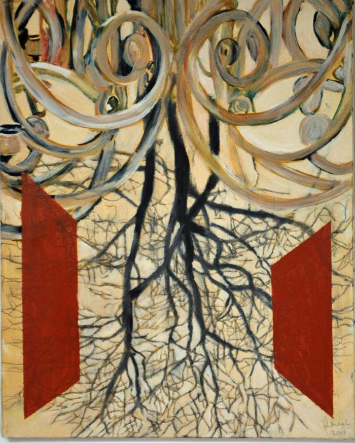 barok-tree(2011) 40 x 50