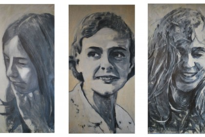 Three women (triptic)