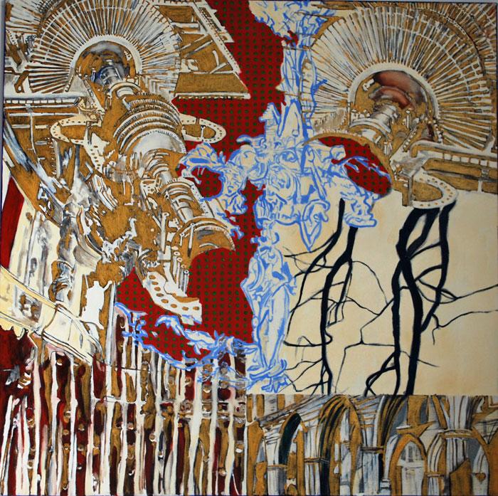 golden-machine(2013) 115 x 115