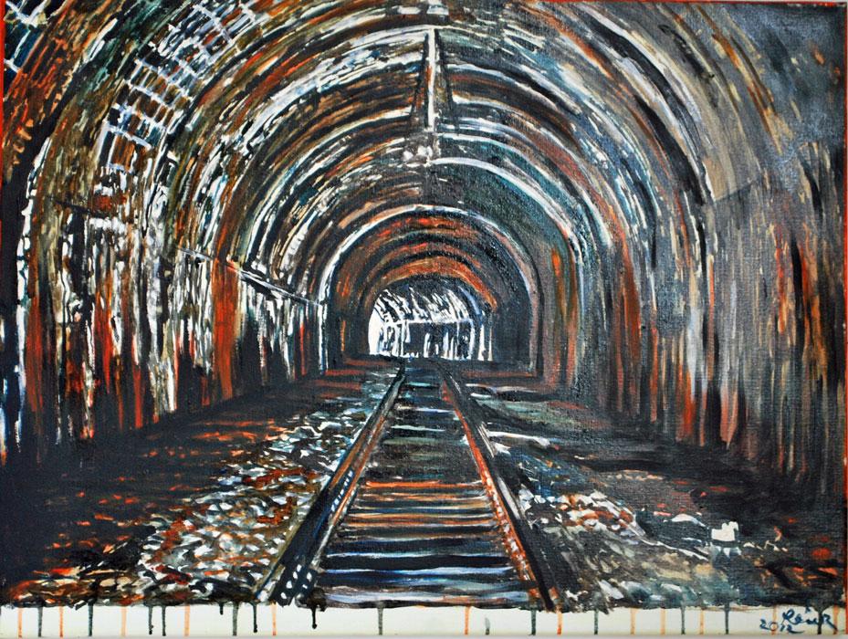 tunnel (2012) 80 x 60